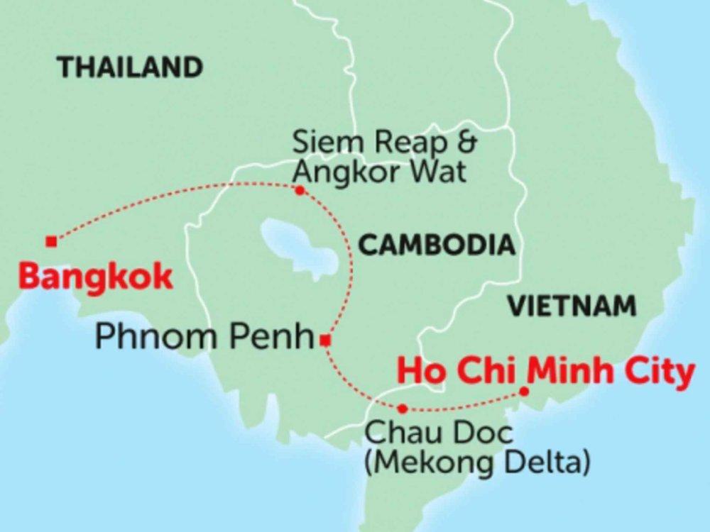 135Y10243 Erlebe Kambodscha Karte