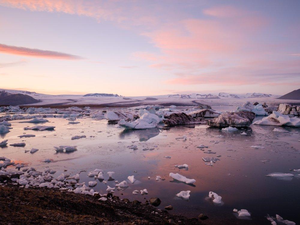 Eisberge in der Jökulsarlon Gletscherlagune