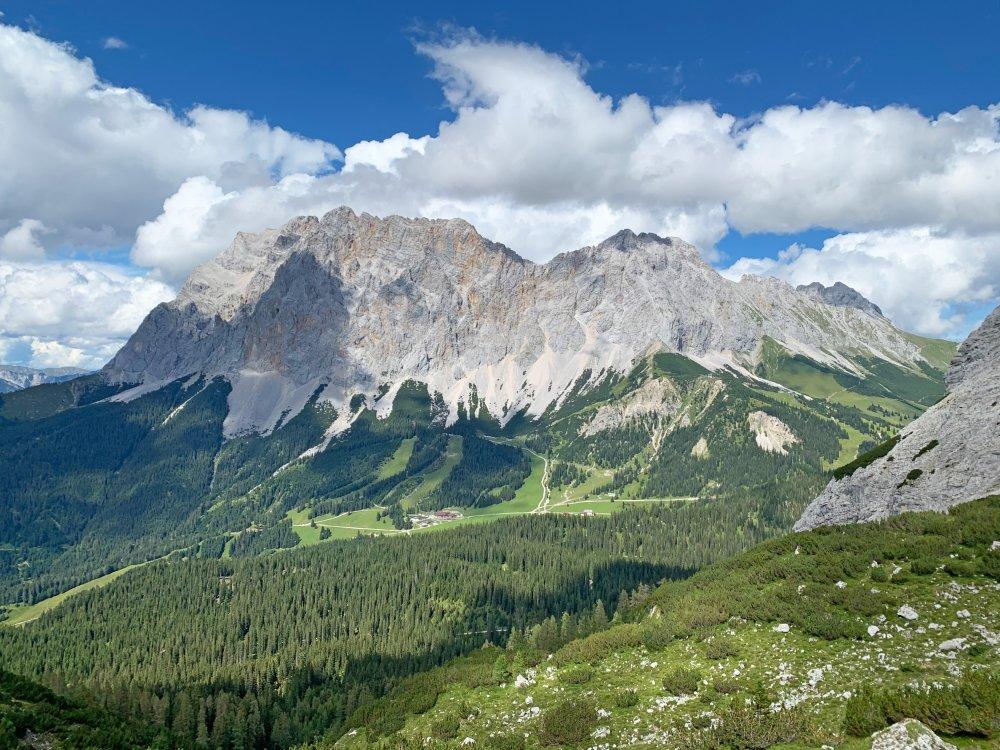 Ausblick Zugspitze