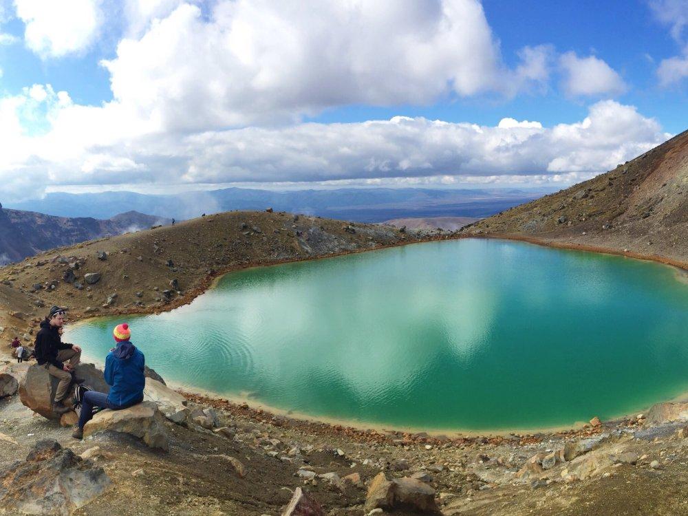 Wanderer am Tongariro Crossing