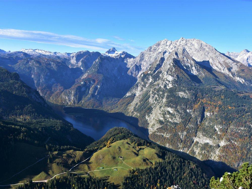 Jenner in den Berchtesgadener Alpen