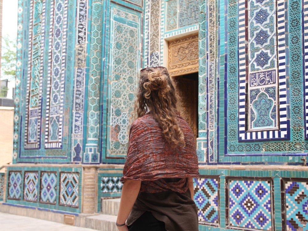 Bunte Mosaike in Usbekistan