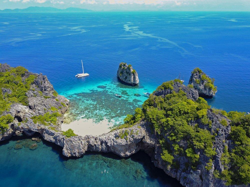 Koh Ha Insel Segeln
