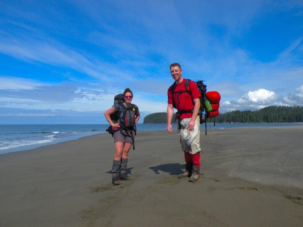 Wanderer auf dem West Coast Trail