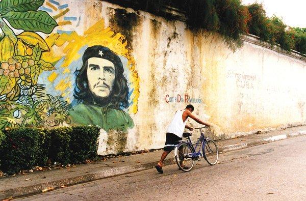 Kuba Che Guevara Straßenkunst