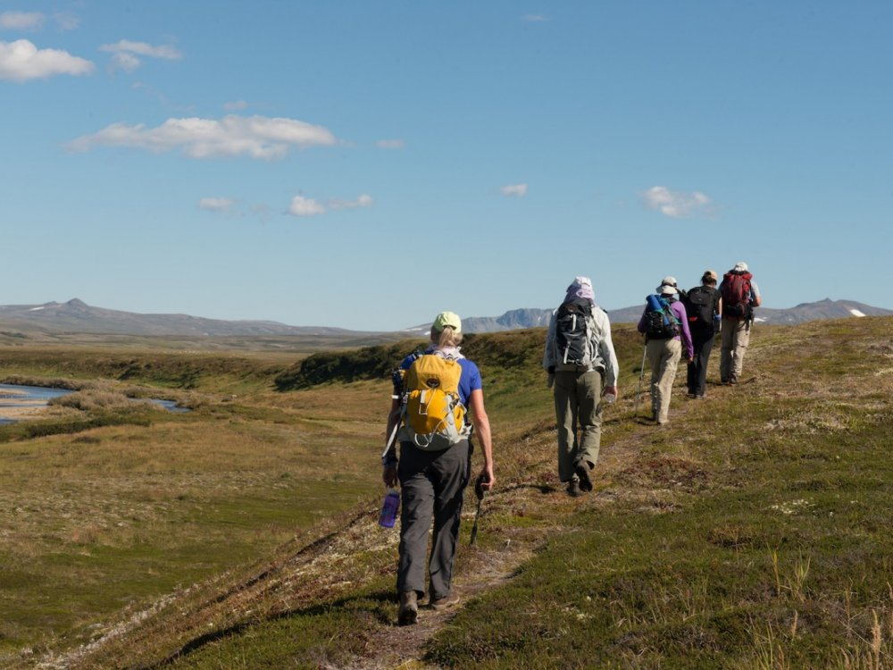 Wandern im Katmai Nationalpark