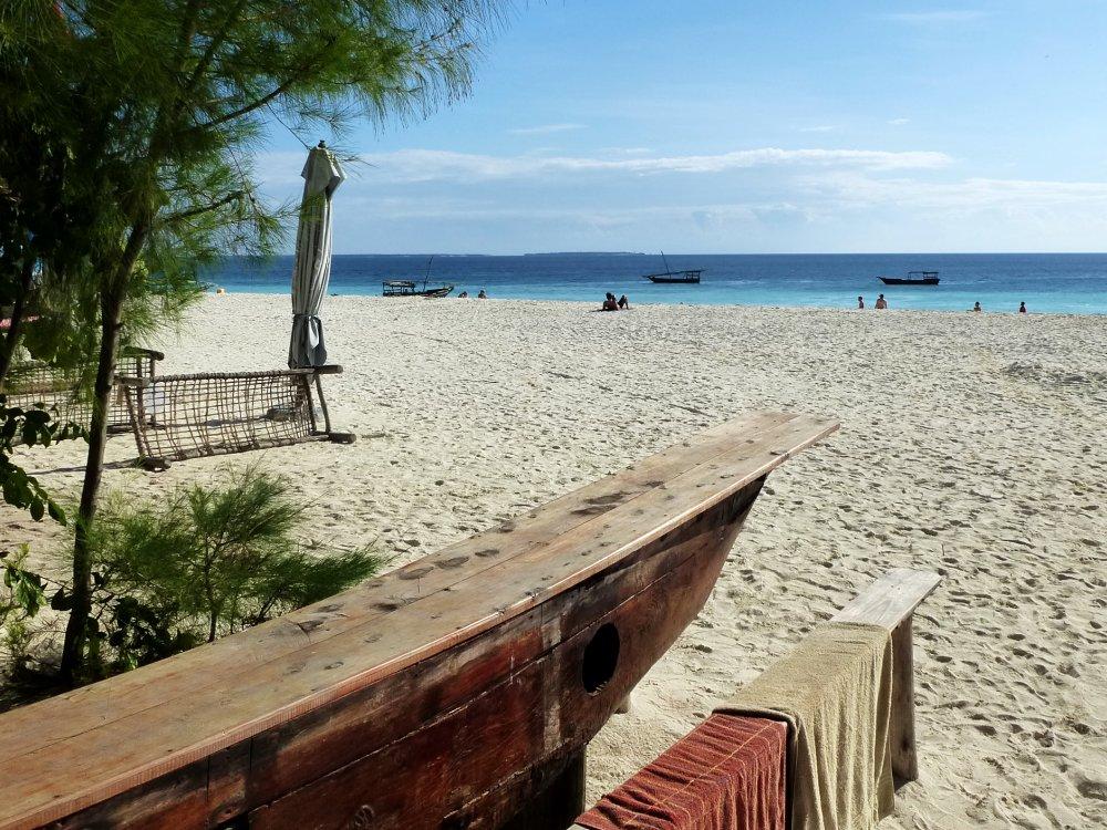 Sonnenschein am Traumstrand auf Sansibar