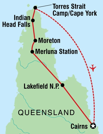 122Y60009 Cape York Explorer Karte