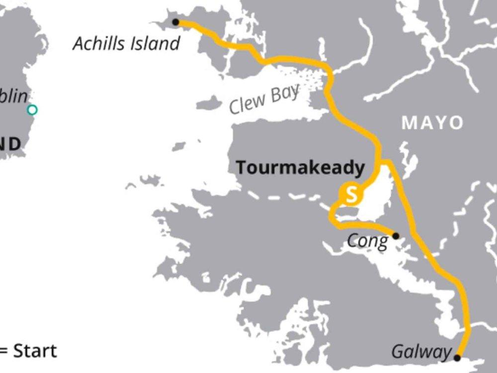 123H10042 Westirland aktiv erkunden Karte