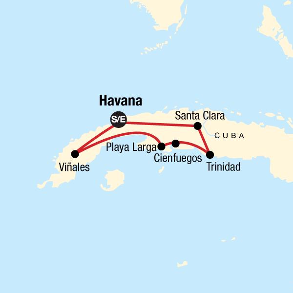 Discover Kuba Karte