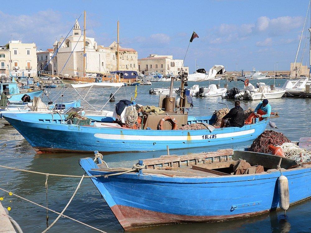 Hafen von Trani