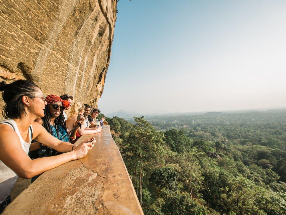 Ausflug Sigiriya Felsenfestung