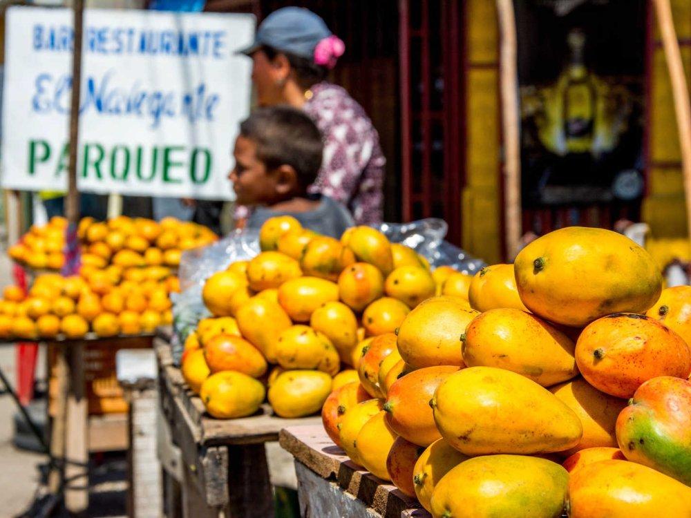 Radreise_Mittelamerika_Obststand