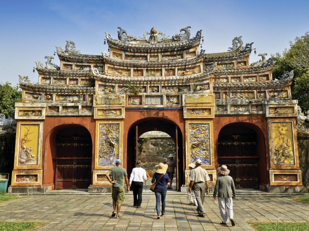 Kaiserliche Zitadell in Hue Vietnam