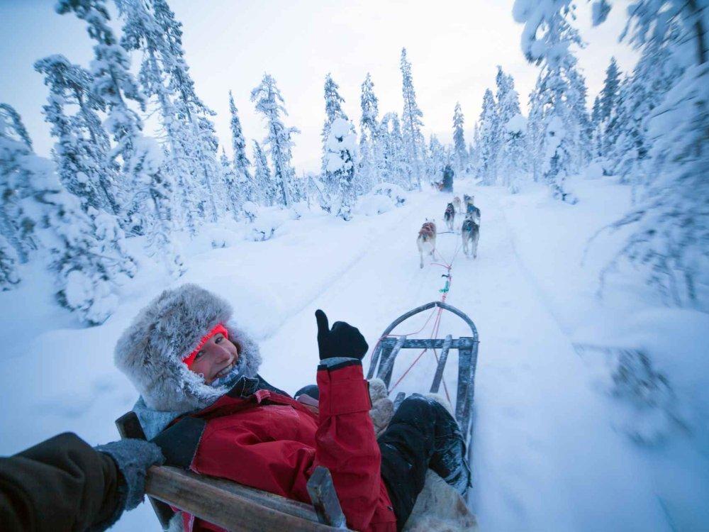 Multiaktiv-Abenteuer in Lappland
