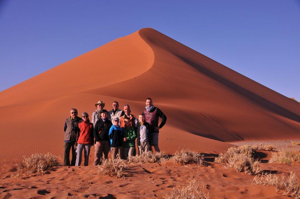 Namibia Familiensafari im Sossusvlei