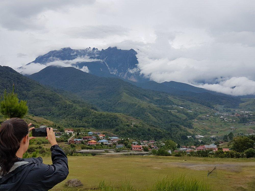 Borneo Mount Kinabalu Fotostopp
