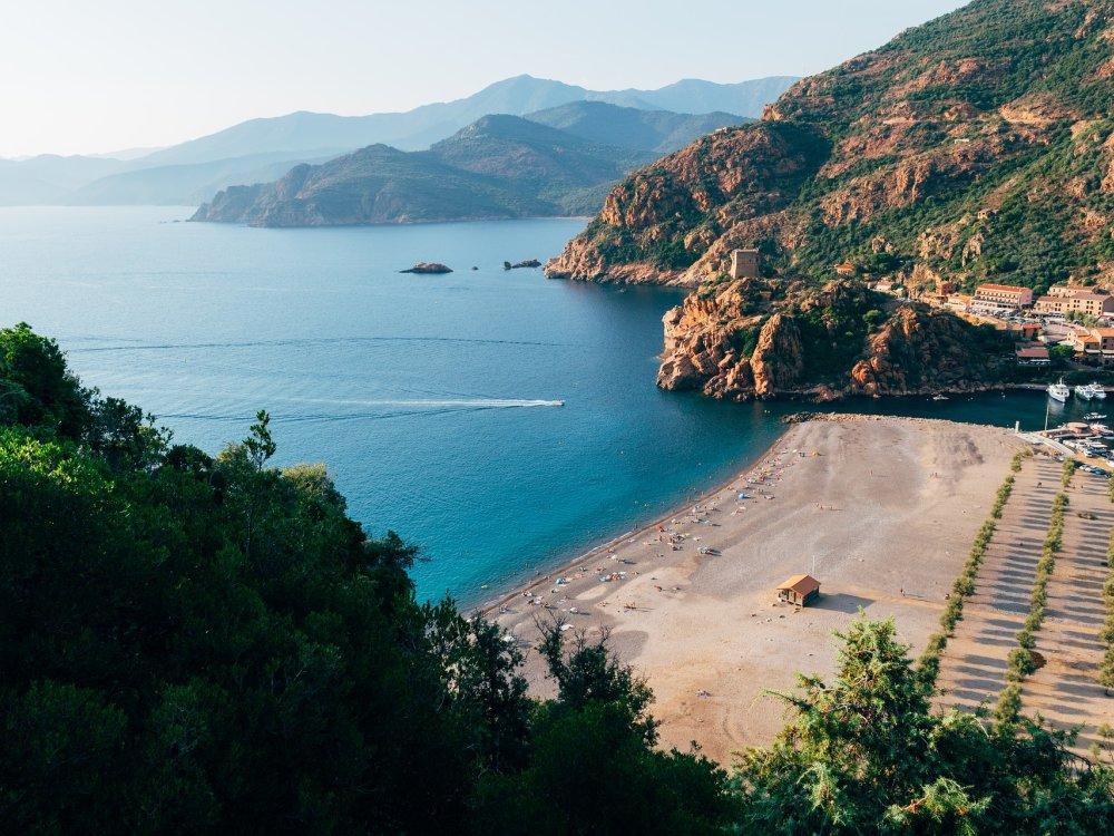 Korsika Bucht