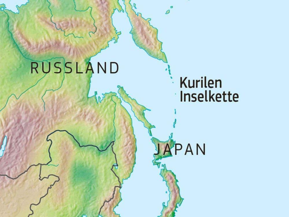 178E11500 Kurilen - Skurriles Paradies Karte