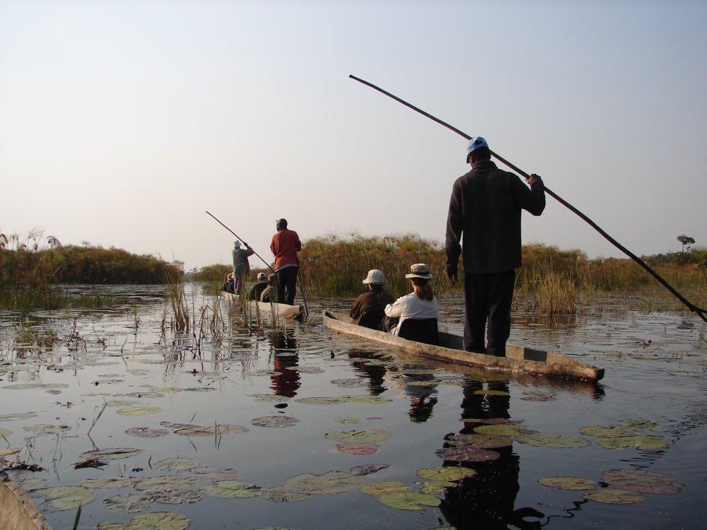 Okavango Delta Mokoro Trip