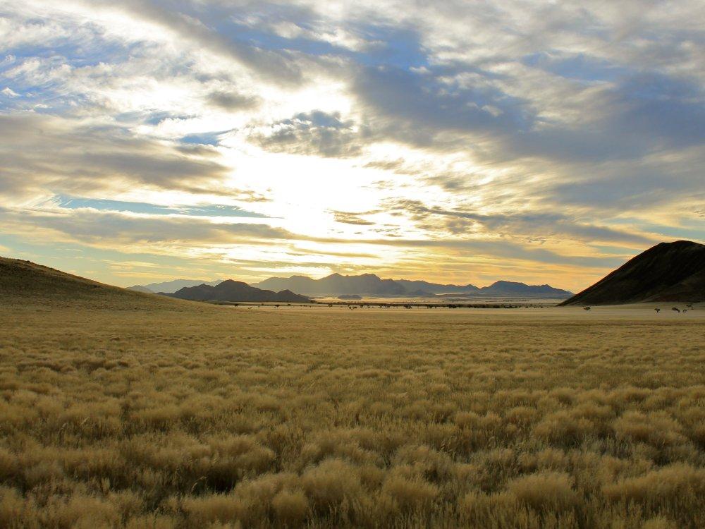 Weite Landschaft in Namibia