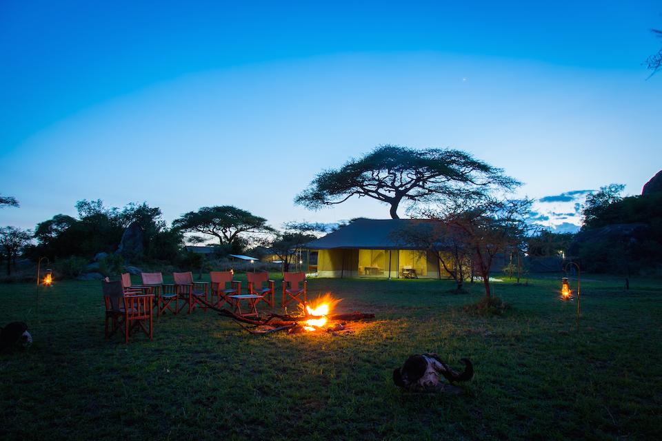 Kisura Camp Lagerfeuer