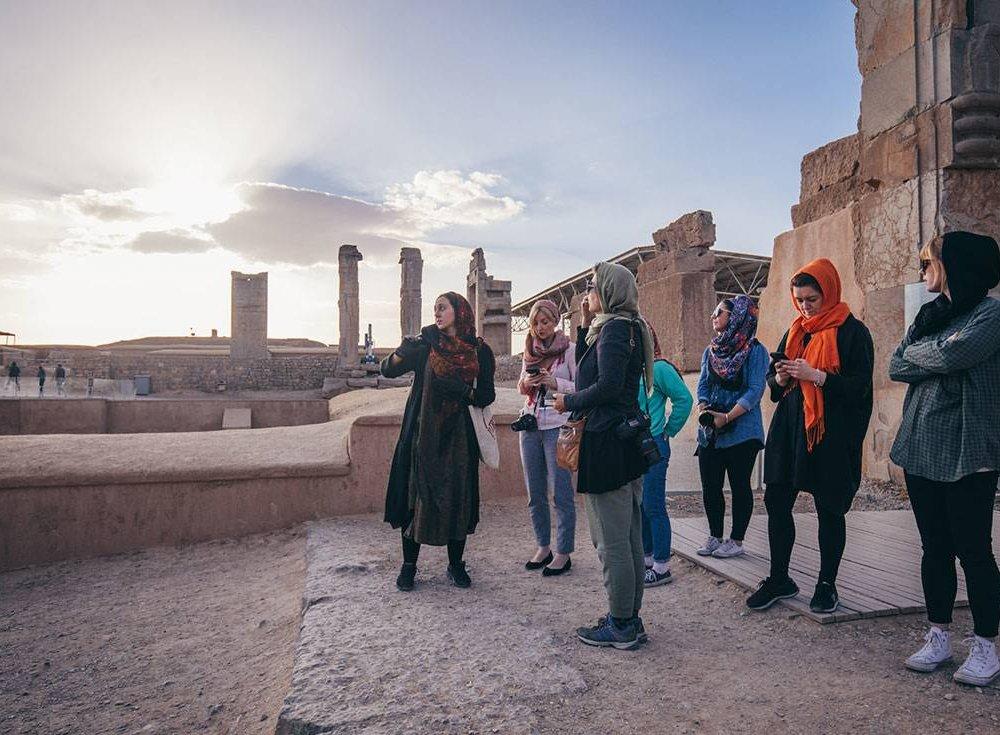 Iran Womens-Expediton Group-Sightseeing