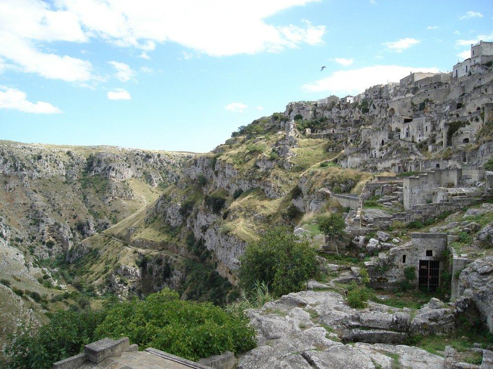 Matera Höhlen