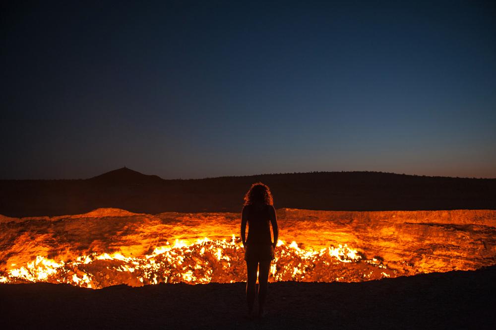 Derweze Krater Turkmenistan