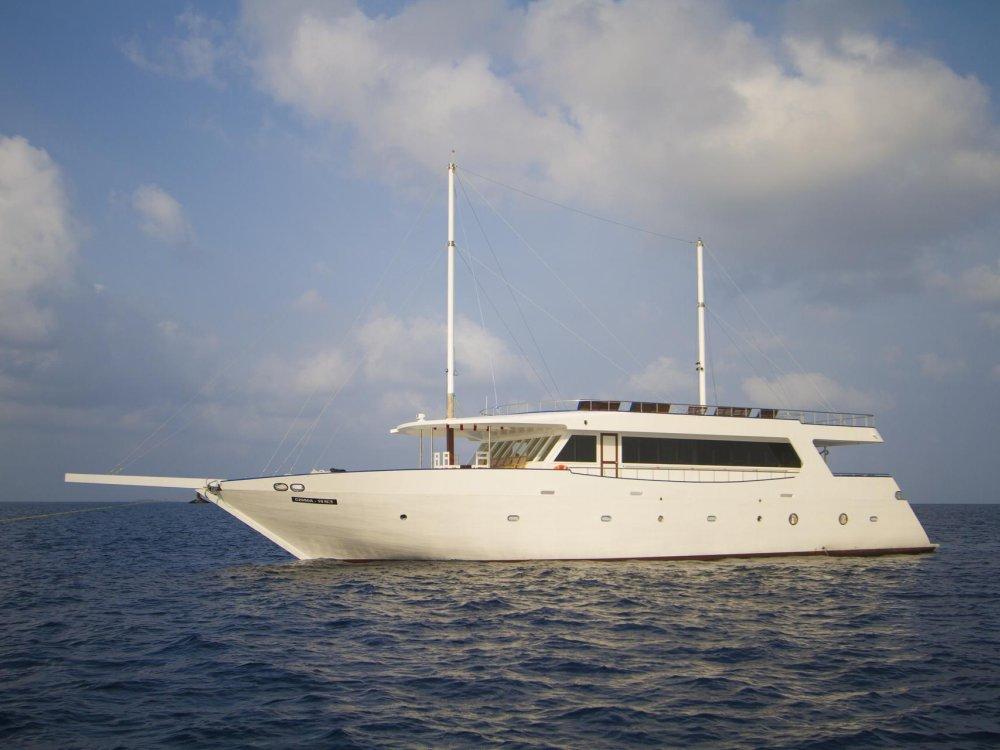 Malediven Schiff Sea Farer Explorer