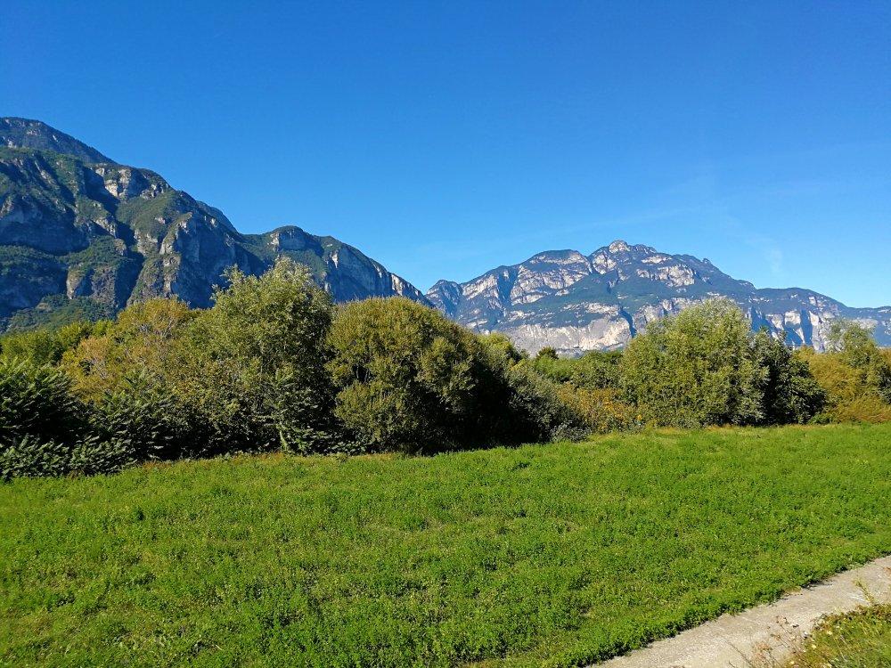 Bergwelt am Etschradweg