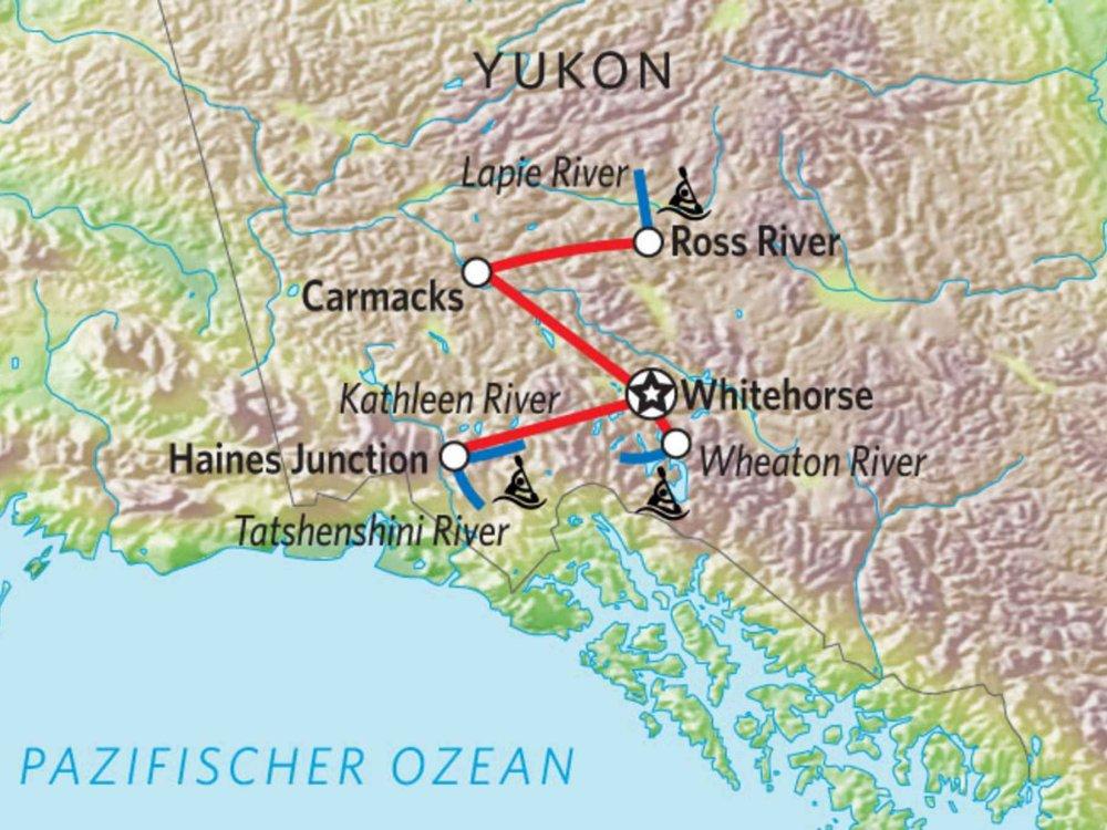 187Y31011 Yukon Kanutour für Kenner Karte