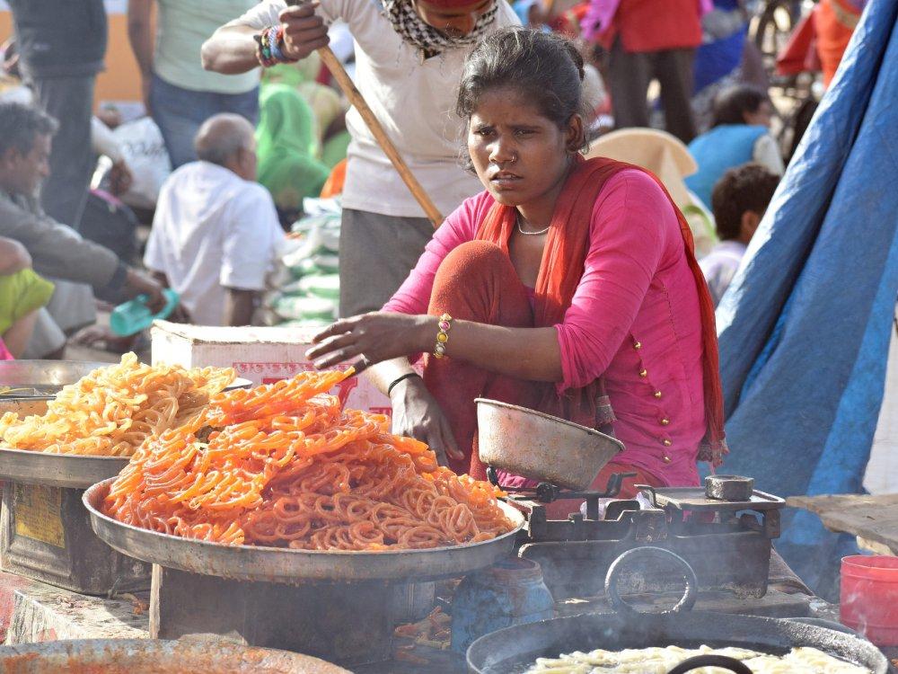 Street Food in Indien