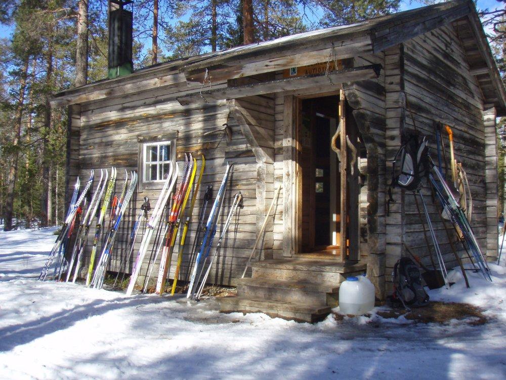 Hütte Skitour