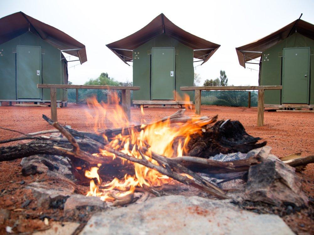 Camp Cabin Uluru