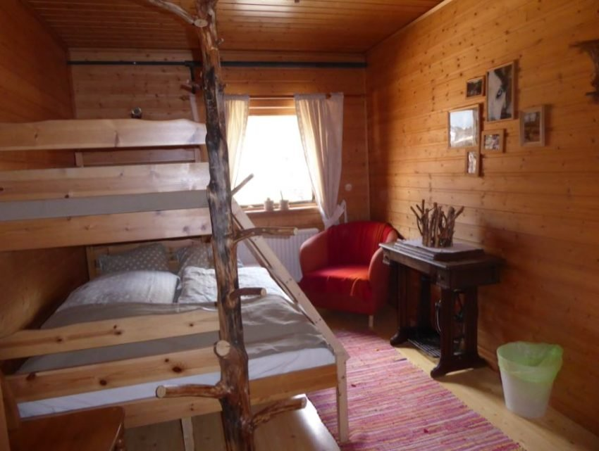 Zimmer im Snowtrail Dogcamp