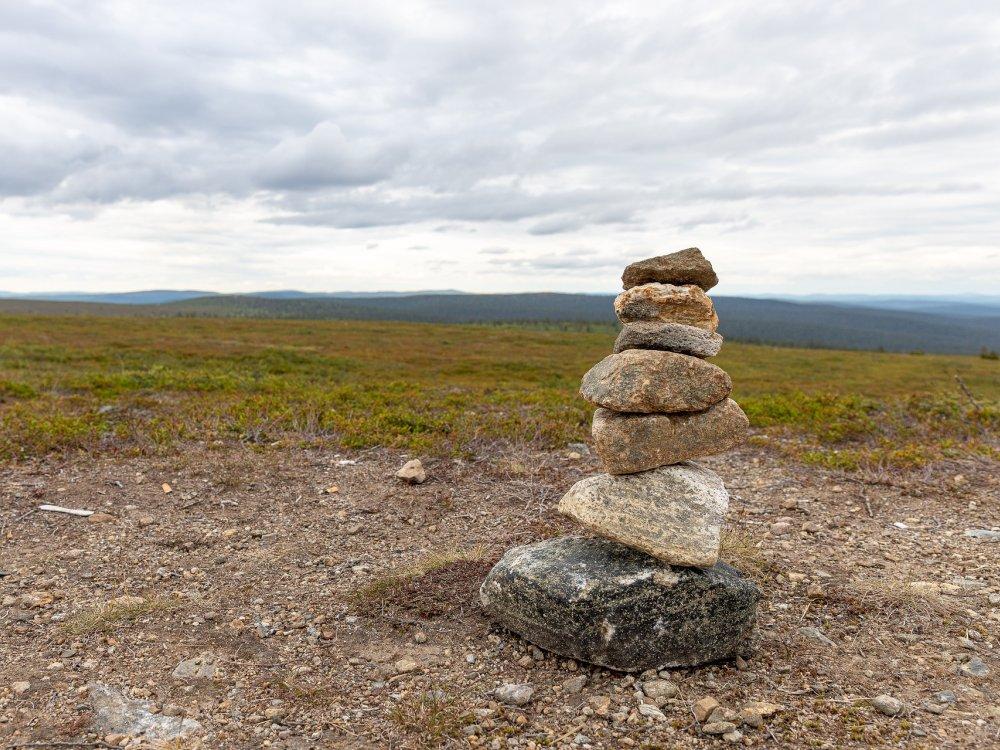 Wandern in Finnisch Lappland