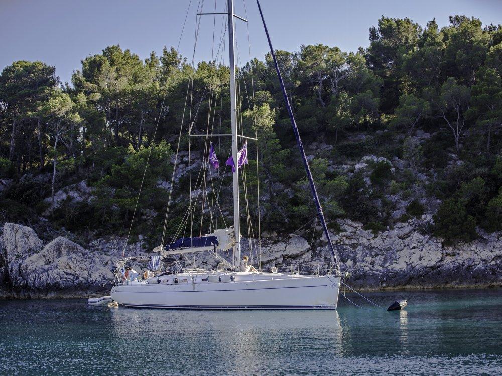 Kroatien Segelboot bei Vis Island