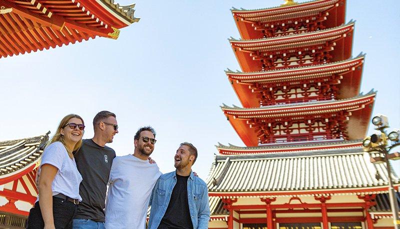 Japan Reisende Tempel