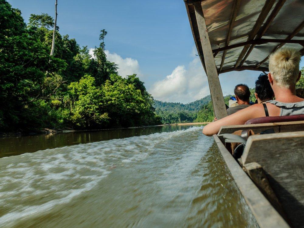 Bootstour zum Taman Negara NP