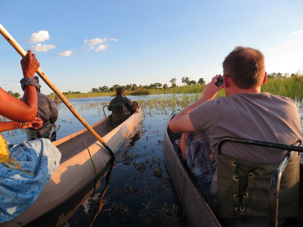Botswana Okavango Delta Mokoro Safari
