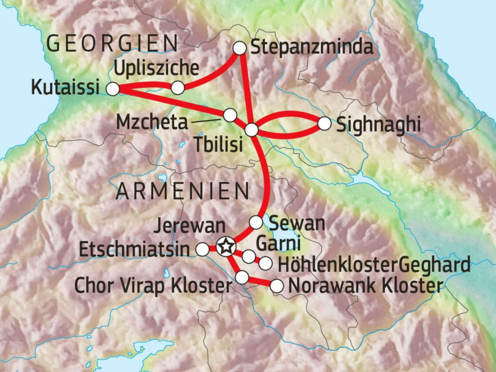 178Y21010 Unbekannte Schätze zwischen Orient und Okzident Karte
