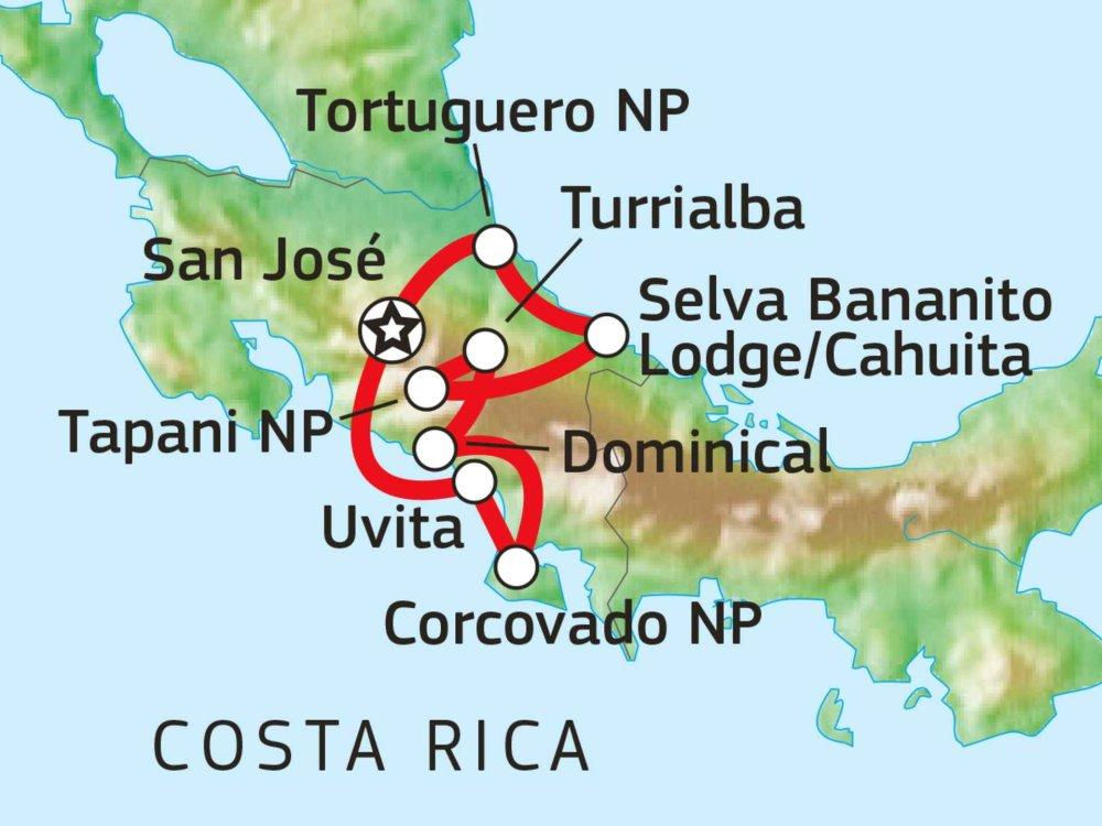 198Y30034 Unverfälschtes Ökoparadies Karte