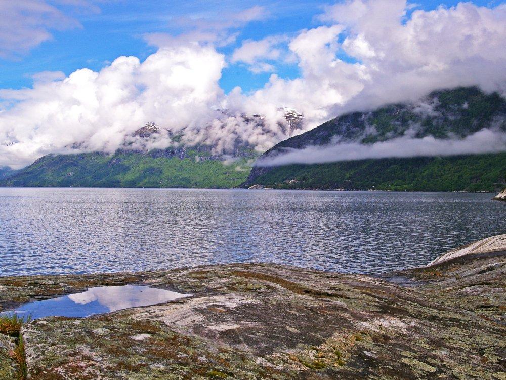 Hardangerfjord Norwegen