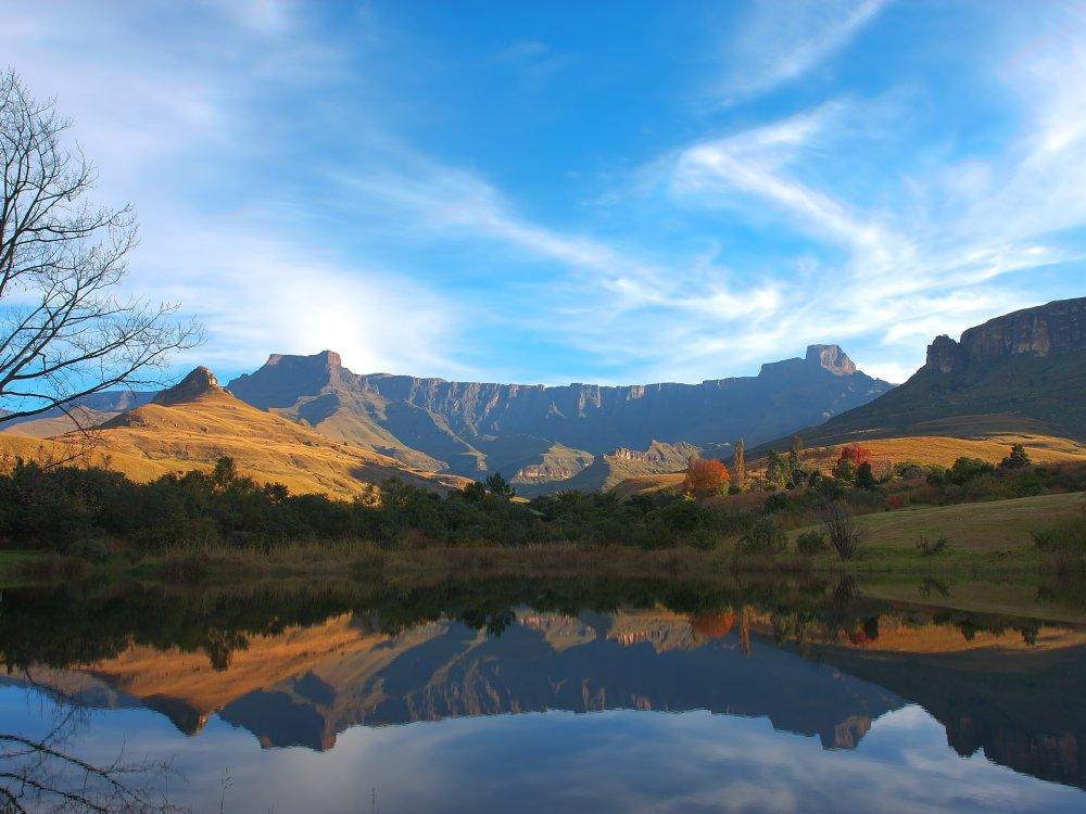 Drakensberge Landschaft