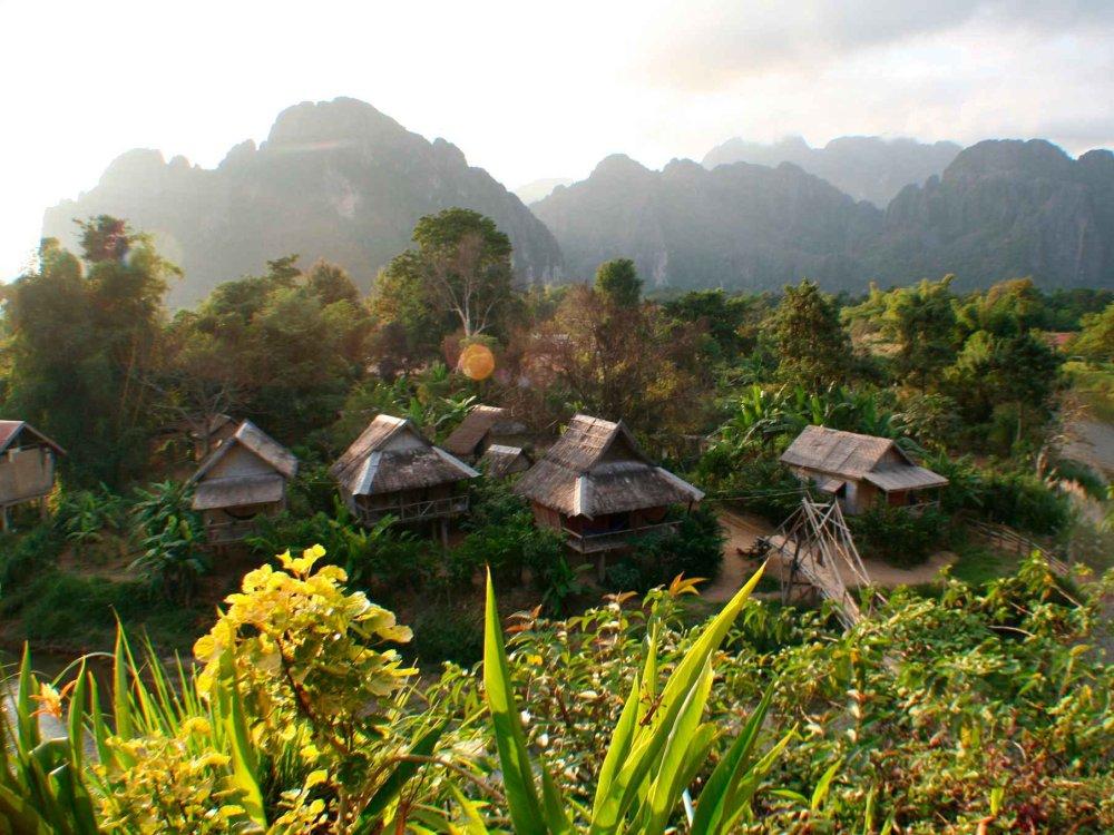 152Y31070 Aktivreise Nordlaos – Bergvölker und Dschungel Karte