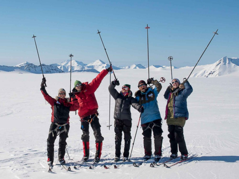 Ski-Expedition Spitzbergen
