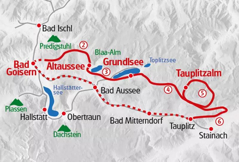 Steiermark Ausseerland Karte
