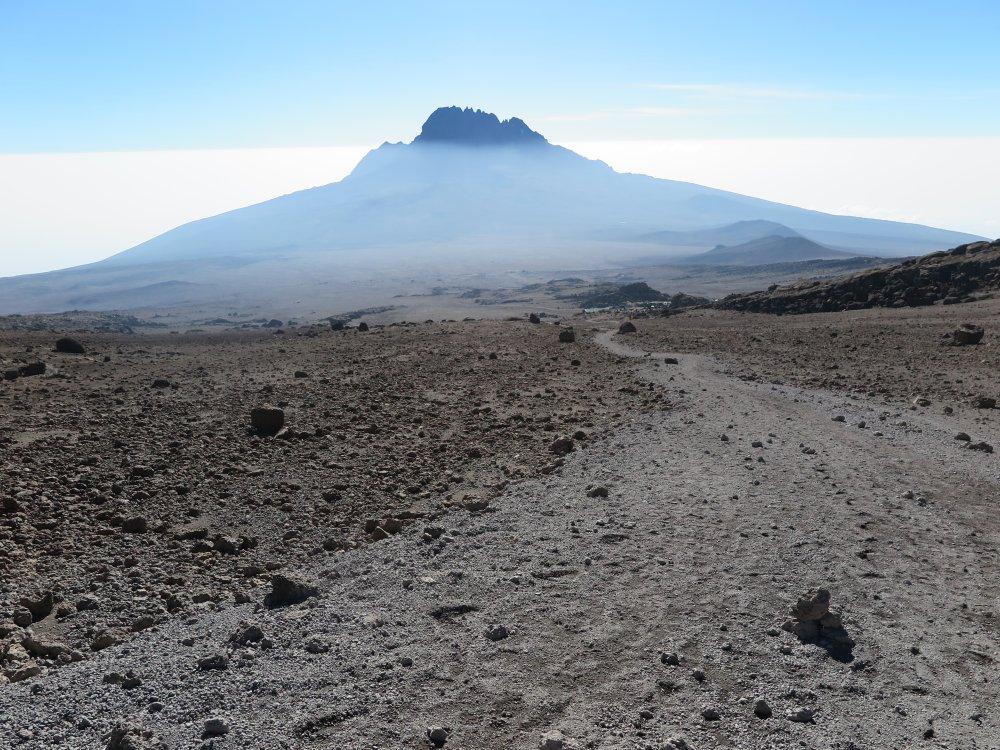 Kilimandscharo Rongai Route Pfad