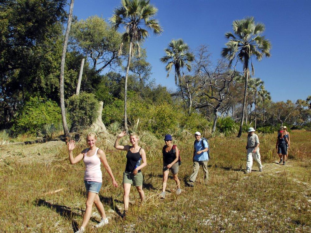 Buschwanderung Botswana